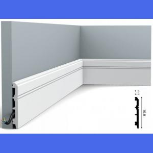 Fussleiste 10,8 x 1,3 cm SX105 Flexible Orac Decor 10.8 cm