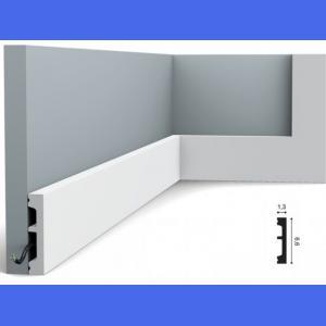 Fussleiste 6 x 1,3 cm SX157 Flexible Orac Decor 6 cm
