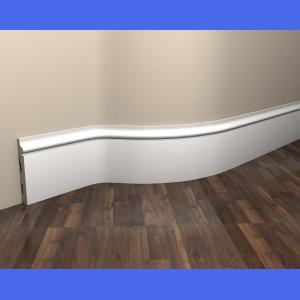 Flexible Fußleiste weiß MD358F Mardom Decor 1.5 cm