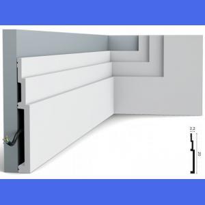 Bodenleiste Kunststoff SX181 Orac Decor 20 cm
