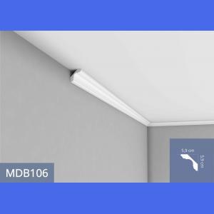 Deckenleiste - MDB106F (Flex) Mardom Decor 5.9 cm