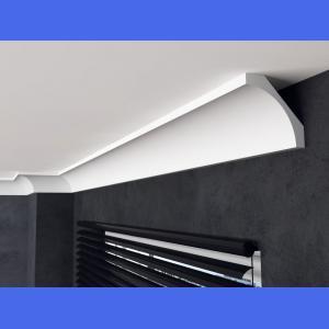 Deckenleiste Kunststoff FE1 15 cm