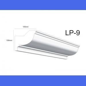 Deckenleiste LP9 - 10 cm 10.5 cm