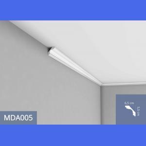 Deckenleiste - MDA005F (Flex) Mardom Decor 6.5 cm