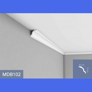 Deckenleiste - MDB102F (Flex) 8.2 cm